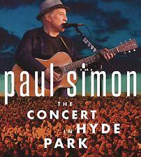 PAUL SIMON - THE CONCERT IN HYDE PARK (CD/DVD)  3 CD NEUF