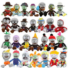 25-30cm Plants Vs Zombies Plush Baby Soft Toys Clip Doll Game Stuff Figures Gift