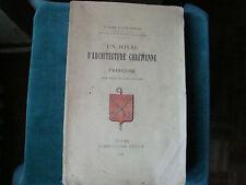 EGLISE ABBATIALE DE REUILLY-SUR-CLAISE A. PICARDAT  1899