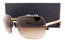 96f95ca858 Nuevo Prada Gafas de Sol Pr 63VS Zvn 6S1 Dorado/Marrón Degradado para Mujer