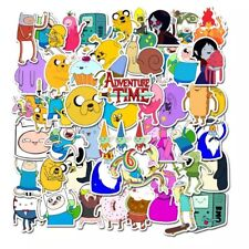 10pcs Adventure Time Stickers Jake Finn Marceline BMO Cute Buy 2 Get 1 Free