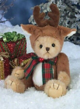 "10"" JINGLES*New*NWT*Bearington Stuff Teddy Bear*CHRISTMAS*Jingle Bells*173204"