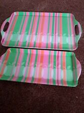 2 drinks Trays Apple candy serving trays melamine.