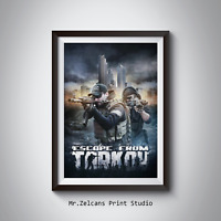 Escape from Tarkov Poster Gaming Poster for gamer FREE SHIPING A4 A3 A2 A1
