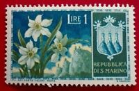 Italy:1953 Flowers 1 L. Rare & Collectible Stamp.