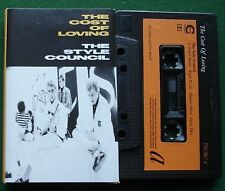 The Style Council The Cost of Loving inc Angel + Cassette Tape - TESTED