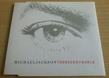 You Rock My World - Michael Jackson - Rare Single CD - 2001