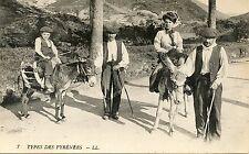 CARTE POSTALE / TYPES des PYRENEES / ANES