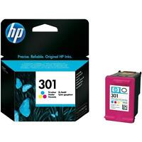 Genuine HP 301 Ink Cartridge Colour for HP Officejet 2620 2622