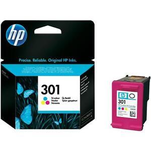 Genuine HP 301 Ink Cartridge Colour for HP DeskJet 1514 1512 2060