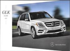 2014 14  Mercedes Benz GLK  Class  Original  brochure
