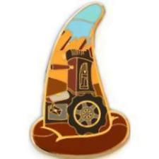 RARE Disney Pin #91209 Rare Disney WDI Cars Tractor Sorcerer Mystery LE 200 *