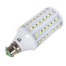 1x B22 15W 5050 LED 86 SMD Energy Saving Corn Light Bulb Day white Lamp 220 F6XD