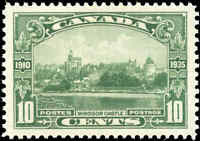 1935 Mint H Canada Scott #215 10c King George V Issue Stamp VERY FINE