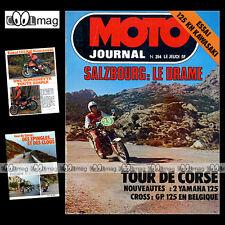 MOTO JOURNAL N°314 KAWASAKI KH 125 YAMAHA DTMX RS DX CROSS AKIRA WATANABE '77