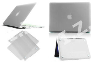 Ultra Clear Premium Hard Case Full Cover Shell for Apple MacBook Laptop