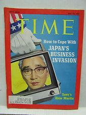 May 10, 1971- TIME Magazine- Japan's Akio Morita- SONY VG