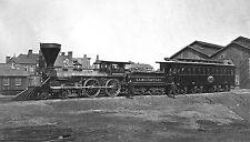 President  Lincoln's Presidential Car U.S. Military RR locomotive W.H. Whiton