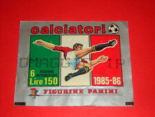 BUSTINA PACKET TUTEN STICKERS ALBUM FIGURINE CALCIATORI PANINI 1985/86  - MAX