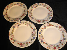"Limoges by  Wm Guerin & Co,   7 1/2"" Round Plates - Pattern  #261 - Set of 4"