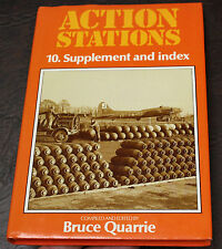 Action Stations #10 European Air Force Bases History Book by BRUCE QUARRIE