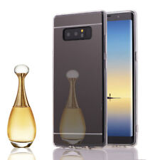 Ultra Thin Silicone Gel Mirror Phone Case Cover For Samsung Galaxy Note 8 5 4 3