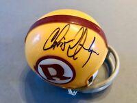 Chris Hanburger Signed Redskins Football Mini-Helmet HOF 2011