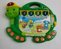 VTech Touch and Teach Turtle Educational Learning Toy ABC's Music Reading W/Book