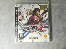 TIME CRISIS 4 SPARATUTTO SONY PS3 PLAYSTATION 3 PAL ITALIANO COMPLETO COME NUOVO
