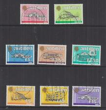 NETHERLANDS ANTILLES, 1983-1989 Government Buildings set of 20, used.