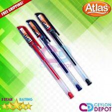 Atlas Chooty GEL Pen High Quality Ballpoint Black Blue Red School Office Pens