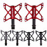 """1pair 9/16"""" Bicycle Pedal 3 Bearings Flat Pedals MTB BMX Road Bike Racing Pedals"""
