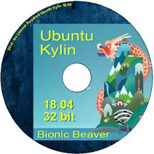 Ubuntu Kylin 18.04 32 bit - Chinese version -  O/S UKUI desktop based on Mate