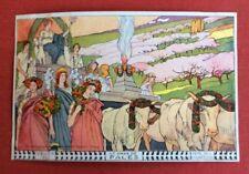 CPA. Suisse. VEVEY 1905. Fête des Vignerons. Le Char de Pales. Ernest Bieler.