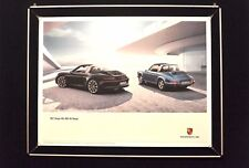 "Porsche Poster ""911Targa Zeitgeist"""