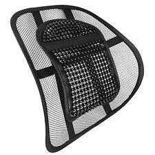 Malla Negra Espalda Apoyo Lumbar Para Sillas de trabajo de oficina en la postura asiento de coche