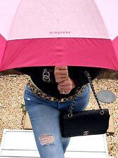 BURBERRY Foldable Umbrella Pink / F026