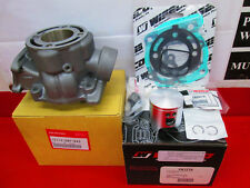 NEW OEM HONDA CYLINDER WITH WISECO PISTON KIT & TOP END GASKETS 2005-07 CR85R