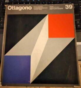 OTTAGONO RIVISTA ARCHITETTURA ARREDAMENTO DESIGN N. 39 DICEMBRE 1975