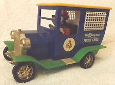 VINTAGE 1973 WALT DISNEY WORLD POLICE CHIEF GOOFY--WIND UP CAR--VERY NICE SHAPE