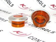 ALLEN BRADLEY - 800T-N159A - CAP PUSH-PULL ILLUMINATED MUSHROOM AMBER