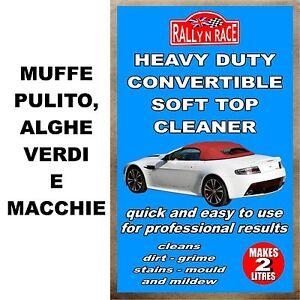 Convertible e cabriolet piu pulito - Muffe pulito, alghe verdi e macchie car