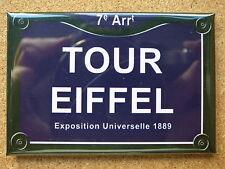 MAGNET DECORATION EPAIS 7.8x5.4cm PARIS TOUR EIFFEL frigo décoration humour