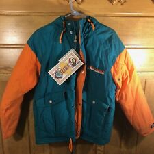 VINTAGE Mirage Miami Dolphins Jacket Adult Med Starter Puffer 90s Coat NEW  NWT d9816d072