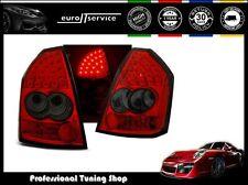FEUX ARRIERE ENSEMBLE LDCH04 CHRYSLER 300C 2005 2006 2007 2008 RED SMOKE LED