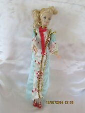 Lovely Chinese Outfit for Barbie with Shoes,Hair band and Jewellery