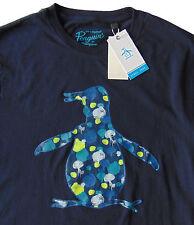 Men's PENGUIN Logo Art Paint T-Shirt Tee Shirt Medium M NWT NEW Cool!
