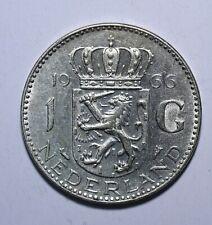 1966 Netherlands 1 Gulden - Juliana - Lot 26