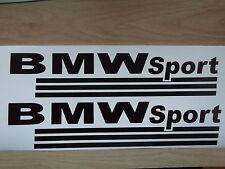 BMW SPORT  VINYL CAR STICKERS x2