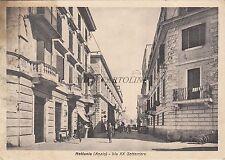 * NETTUNIA (Anzio) - Via XX Settembre (Fot.Berretta) 1940